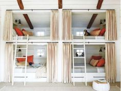Bunk with privacy