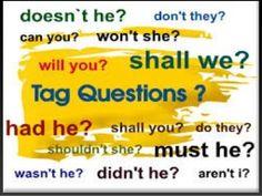 Resultado de imagem para what is question tag?