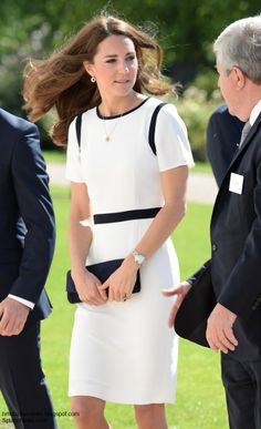 The Duchess of Cambridge attended a breakfast reception at the National Maritime Museum in Greenwich this morning.
