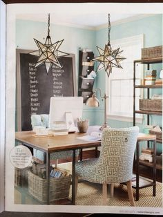 Ballard designs - Moravian star lighting for entry way