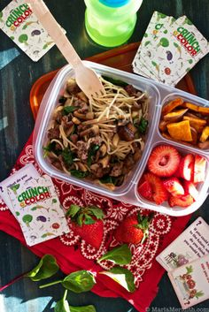 Healthy Lunch Ideas: Load Up With Healthy Lunches From The Healthy Lunch Challenge from Crunchacolor!