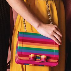 a643b1f01f6f Ferragamo Rainbow Bag 2019 Rainbow Bag, Fashion Trends, Womens Fashion,  Shoulder Bag,