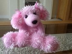 Ravelry: Toodles the Poodle pattern by Rita Whitfield