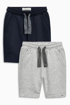 Buy Navy/Grey Shorts Two Pack (3-16yrs) from the Next UK online shop