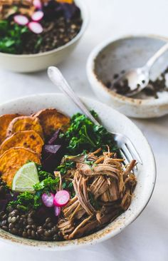 Wholesome Lentil Protein Bowls {dairy-free, gluten-free}