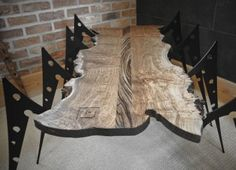 Bespoke Arachnicab coffee table by Lewis deigns