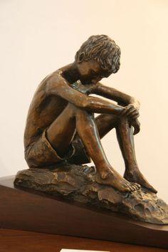 #Bronze Tabletop Desktop Small Indoor Statuettes Figurines #artwork by #artist…