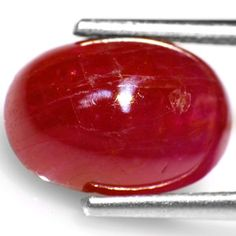 5.08-Carat Rare Blood Red Cabochon-Cut Vietnamese Ruby (AIGS)