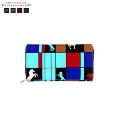 Montana West Trail Of Painted Ponies Turquoise Wristlet Wallet