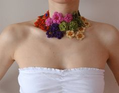 I'm such a fan of this wire crochet jewelry designer!