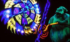 nightmare before christmas oogie boogie wheel | Check out his song and dance in a clip after the jump.