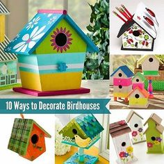Pin by Tracey - My CreativiT on Things to Create | Pinterest | Bird Decorating Bird House Designs on do it yourself bird houses, painted bird houses, wood bird houses, welding bird houses, real estate bird houses, small bird houses, painting bird houses, themed bird houses, displaying bird houses, color bird houses, lighting bird houses, sewing bird houses, graphic design bird houses, white bird houses, birds and bird houses, automotive bird houses, decorative bird houses, fashion bird houses, wallpaper bird houses, summer bird houses,