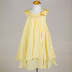 Lucy's flower girl dress- yellow- my fav.  I think she needs matching cowboy boots