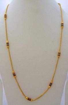 Gold Jewelry Jwellmart South India Women Gold Polish Self Design Long Necklace Chain - Light Weight Gold Jewellery, Gold Jewelry Simple, Silver Jewelry, Amber Jewelry, Fine Jewelry, Jewelry Necklaces, Quartz Jewelry, Golden Jewelry, India Jewelry