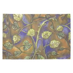 http://www.zazzle.com/leaves_from_berries_american_mojo_kitchen_towels-197806517090783262   $15.95 #kitchen #towel #zazzle at zazzle.com/fabricatedframes #raspberry #leaves #art with no raspberries featured