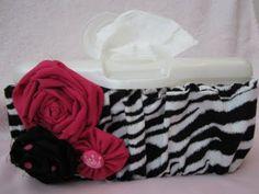 Decorative wipe case