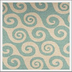 Coastal Living Wave Hello Rug. From the official Coastal Living collection.