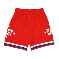 d7e448043e4 NBA 1972-2004 All Star East West Retro Swingman Shorts Men's by Mitchell  &
