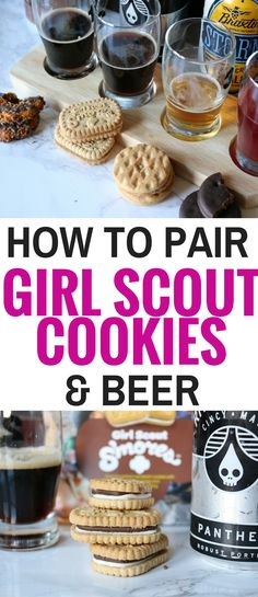 Girl Scout Cookies and beer pairings are here. I'll show you how to pair Girl Scout Cookies with craft beer from Cincinnati breweries, plus other options. [ad]