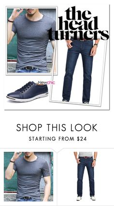 """""""NEWCHIC 42.//"""" by mersy-123 ❤ liked on Polyvore featuring men's fashion and menswear"""