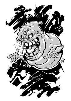 Slimer - Ghostbusters - Eryck Webb