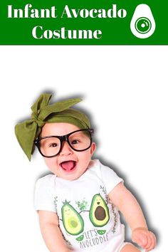 Have you ever though about getting apparel for your baby to wear a guacamole suit 👶 🥑? Whether you have though so or not, you must check out this infant avocado costume specially made to fit little babies! If you want your son or daughter to be fan of alligator pear, you must make him wear this super cute outfit! He or she will be proud to see this apparel many years later for sure! #avocado #costume Avocado Costume, Little Babies, Guacamole, Pear, Infant, Cute Outfits, Super Cute, Daughter, Suit