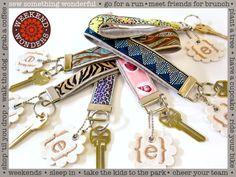 Ribbon+&+Faux+Suede+Wrist+Loop+Key+Fobs:+Weekend+Wonders+Returns+with+Fabric.com