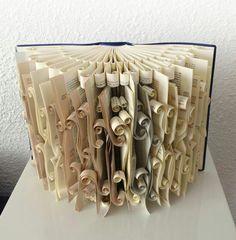 Dat is nog eens creatief met een boek!