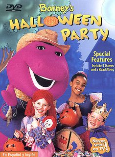 Barney - Barneys Halloween Party (DVD, 2003) #Lyonsgroup