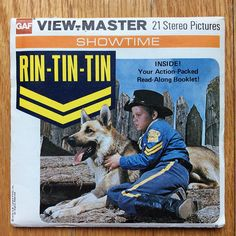 View-Master Reels Rin-Tin-Tin Showtime Series Original Sleeve Gaf B467 Viewmaster Reels 1976