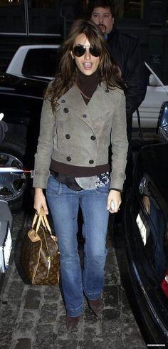 penelope cruz with louis vuitton bag | Penelope Cruz and Louis Vuitton Trouville Bag Photograph - 2005