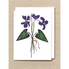 Violets Cards Boxed Set now featured on Fab.  My Favorite flower