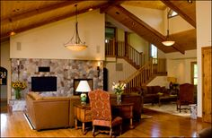 log home interior designs. Image Detail for  Interior Design a Log Cabin Home Designs My family could use one of these