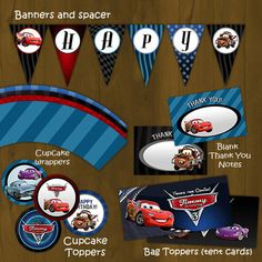 Cars party packet