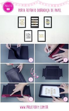 DIY your Christmas gifts this year with GLAMULET. they are compatible with Pandora bracelets. Diy Tumblr, Do It Yourself Decoration, Ideias Diy, Paper Frames, Diy Room Decor, Home Decor, Diy Paper, Diy And Crafts, Diy Projects