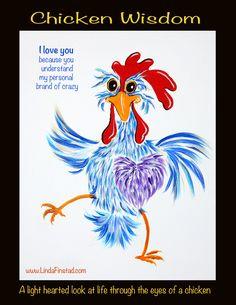Chicken Coop Decor, Chicken Crafts, Chicken Art, Chickens And Roosters, Pet Chickens, Chickens Backyard, Chicken Drawing, Chicken Painting, Chicken Quotes