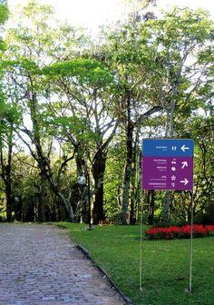 Estudo Sinalização Jardim Botanico   Núcleo de Design Gráfico Ambiental - NDGA