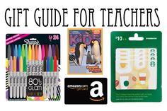 Gift Guide for Teachers: Great Gift Ideas for Your Child's Teacher for under $15