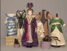 Edwardian Doll with original wardrobe