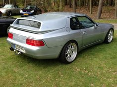 Porsche 968 shooting brake. With a little adjustment it could be nice:)