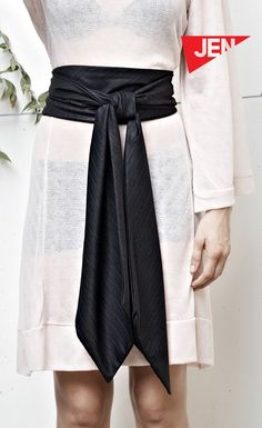 So. I think I want to start wearing obi belts. Because this is rad looking.