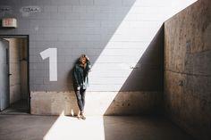 Alex Rodriguez | The lighting in this parking garage was INSANE!! VSCO Film Pack 02 w/ tweaks.
