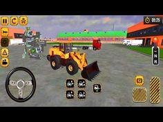 City JCB Driving - Dozer Simulator: Jcb Excavator Factory - Android Gameplay - YouTube