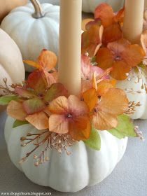 Shopgirl: Pumpkin Candle Holder Tutorial