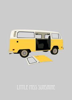Little Miss Sunshine (2006) ~ Minimal Movie Poster by Sunyoung #amusementphile