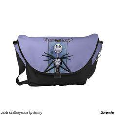 Jack Skellington Bolsa Messenger #gifts