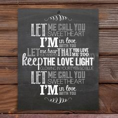 Let Me Call You Sweetheart 8x10 by sewlovedshop on Etsy