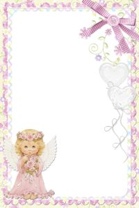 """Photo from album """"Frames 3 PNG"""" on Yandex. Borders For Paper, Borders And Frames, Apple Logo Wallpaper Iphone, First Communion Invitations, Baby Frame, Christmas Stationery, Frame Clipart, Writing Paper, Flower Frame"""