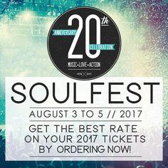 GoRockfest.Com: SoulFest 2017 Lineup & Tickets Info