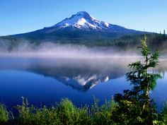 Mount Hood in Oregon....the picture says enough